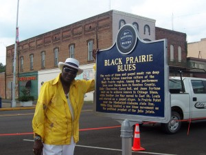 Black Prairie Blues Trail Marker