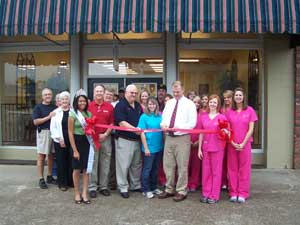 Mitchell Dental Ribbon Cutting