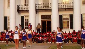 Annual County Wide Pep Rally held at the Court House