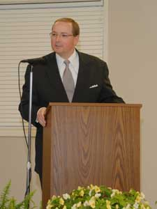 MSU President Dr.Mark Keenum at The Noxubee Alliance Awards Banquet